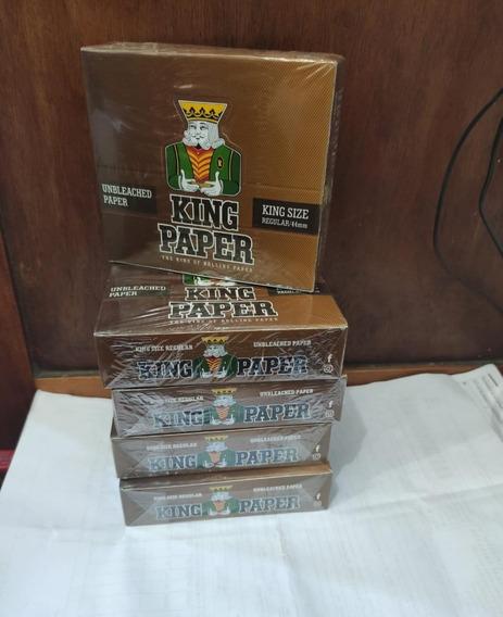 King Paper Brown 10 Caixas Com 20 Frete Grátis Seda Atacado