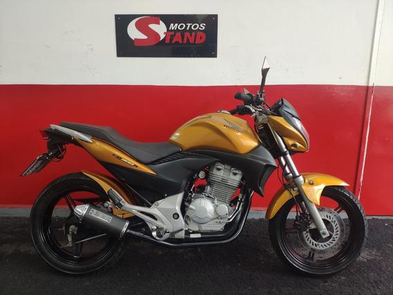 Honda Cb 300 R Cb 300r Cb300r 2010 Amarela Amarelo