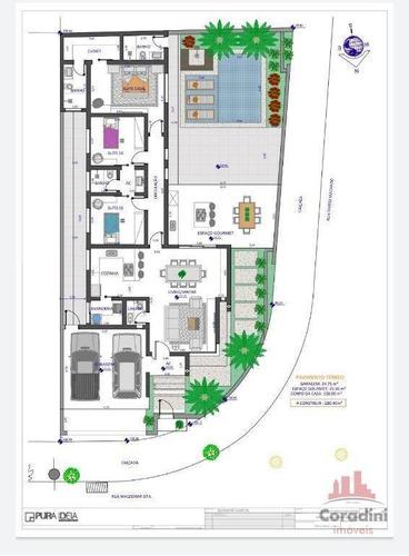 Imagem 1 de 1 de Casa Em Construção Com 3 Dormitórios À Venda, 180 M² Por R$ 850.000 - Terras De Santa Bárbara - Santa Bárbara D'oeste/sp - Ca2668