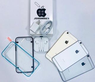 iPhone 6 16gb (180) 4g Forro Vidrio Audífonos 1 Mes Garantia