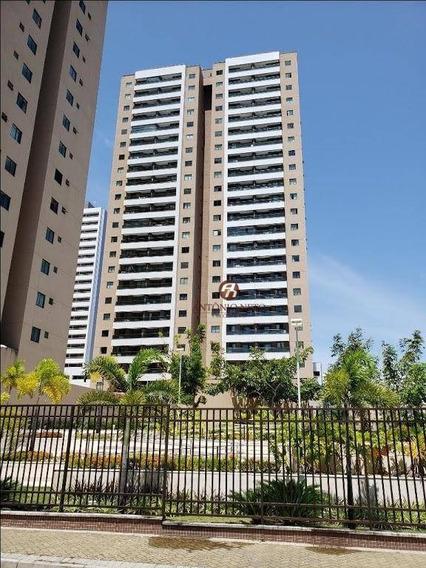 Apartamento Com Lazer Completo, Com 3 Dormitórios Para Alugar, 65 M² Por R$ 1.600/mês - Papicu - Fortaleza/ce Frente Ao Shopping Rio Mar - Ap0409