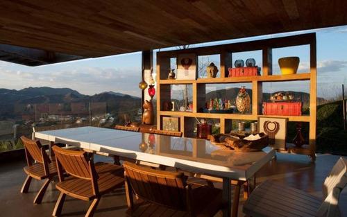 Casa Com 4 Quartos Para Comprar No Vale Dos Cristais Em Nova Lima/mg - 2476