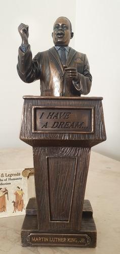 Figura De Martin Luther King, Baño Bronce, Decoración Adorno