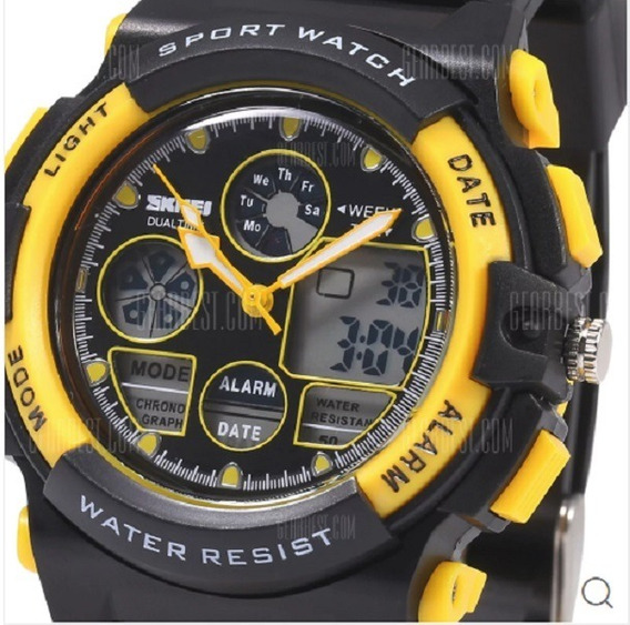 Relógio Masculino Skmei 1163 Prova D