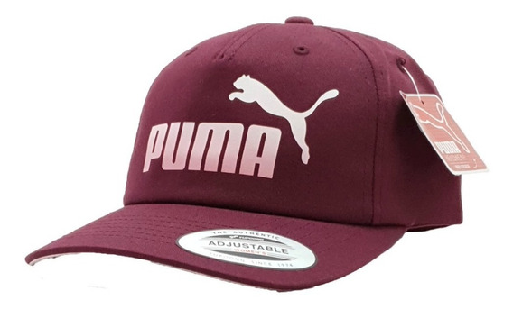 Gorra Puma Girls Ajustable Vino