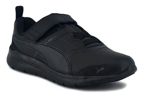 Zapatilla Puma Niño Flex Essentials Lv Ps Adp Negro