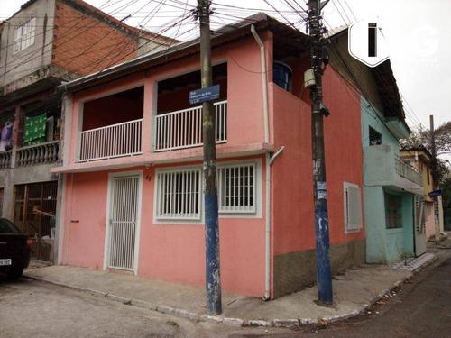 Imagem 1 de 21 de Sobrado Com 2 Dormitórios À Venda, 69 M² Por R$ 230.000,00 - Conjunto Residencial Haroldo Veloso - Guarulhos/sp - So0502