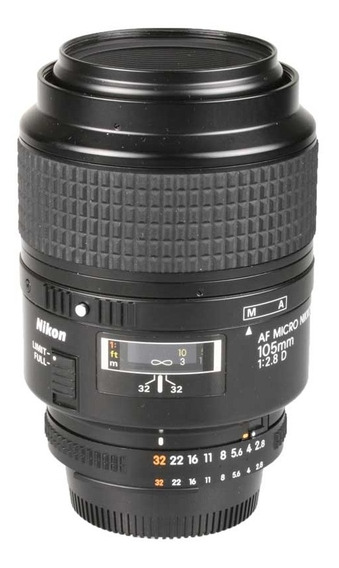 Objetiva Nikon Af 105mm F2.8d Micro