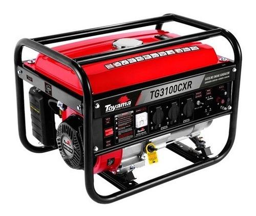 Gerador Energia Gasolina 3.1 Kva Toyama Tg3100cxr - 10910