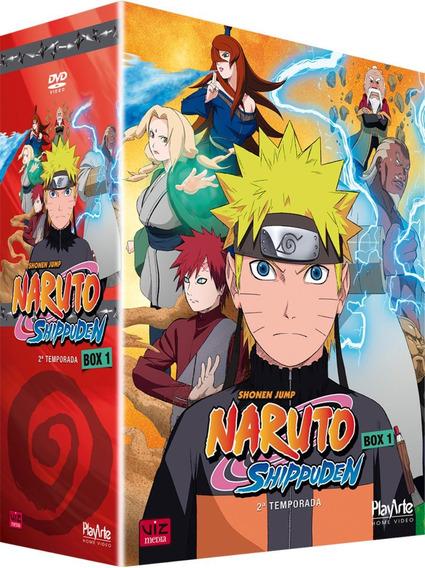 Dvd Naruto Shippuden - Box 1 - 2ª Temporada - 5 Discos