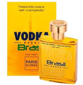 Perfume Vodka Brasil Amarelo 100ml - Paris Elysees