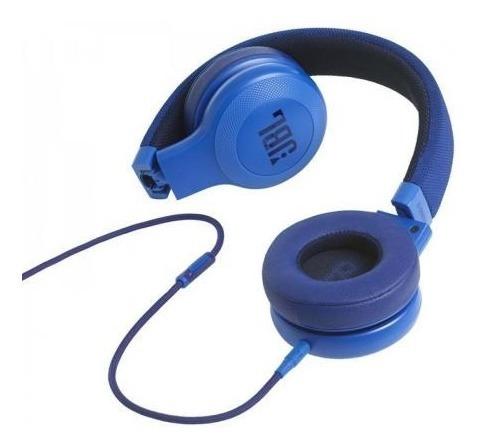 Fone De Ouvido Jbl E35 On Ear Original Azul