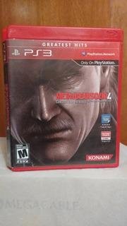 Metal Gear Solid 4 Guns Of The Patriots (c Manual) Ps3 Od.st