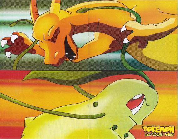 Poster Pokemon 3 En 1 Medidas 21 Cm X 27 Cm