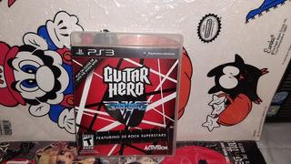 Guitar Hero Van Halen De Ps 3 Y Funciona,play 3.