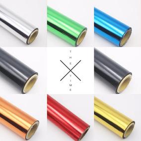 Foil Ouro Metalizado Laser Copo E Papel 20cm X 120m Atacado