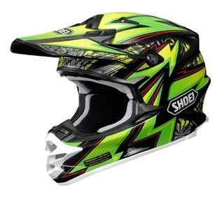 Casco Cross Shoei Vfx-w Maelstrom M, L, Xl Rider One