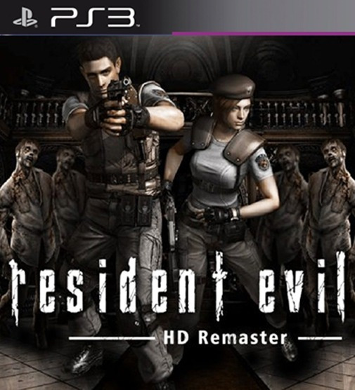 Resident Evil Hd Remaster Remake Ps3 Digital Psn Game