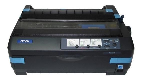 Impressora Matricial Fx-890 Fx 890 Fx890 Edge Tampa Acrílica