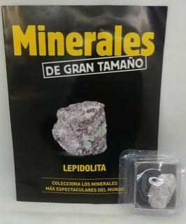 Coleccion Minerales Nº 39 Lepidolita