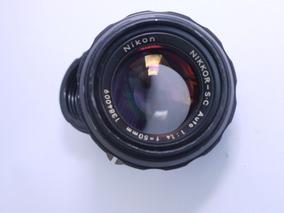 Lente Nikon S,c 50mm F1.4 Manual Focus