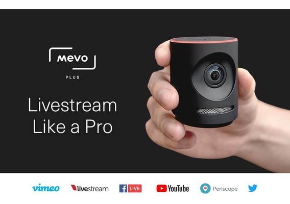 Câmera Mevo Plus+ Boost 4k Livestream Facebook Youtube Vivo