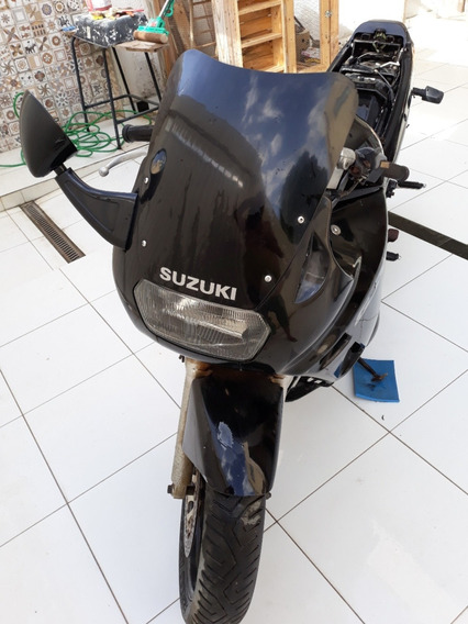 Motocicleta Esportiva Suzuki Gsx-750f