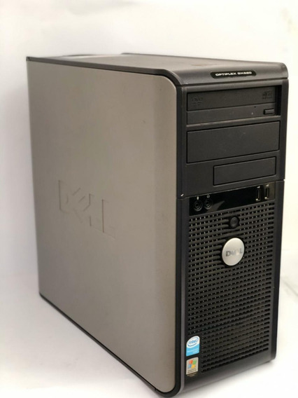 Desktop Dell/ Optiplex 755 / Core 2 Duo / 4gb / 160 Hd Ddr2
