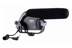 Microfone Direcional Boya By-vm190