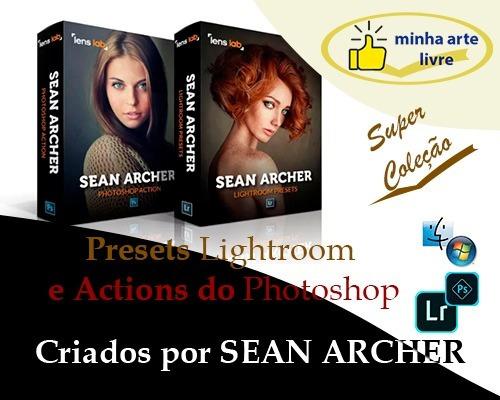 Actions & Presets Premium-lightroom E Photoshop-sean Archer