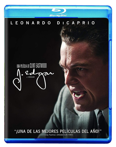 Imagen 1 de 3 de J . Edgar Leonardo Dicaprio Clint Eastwood  Pelicula Blu-ray