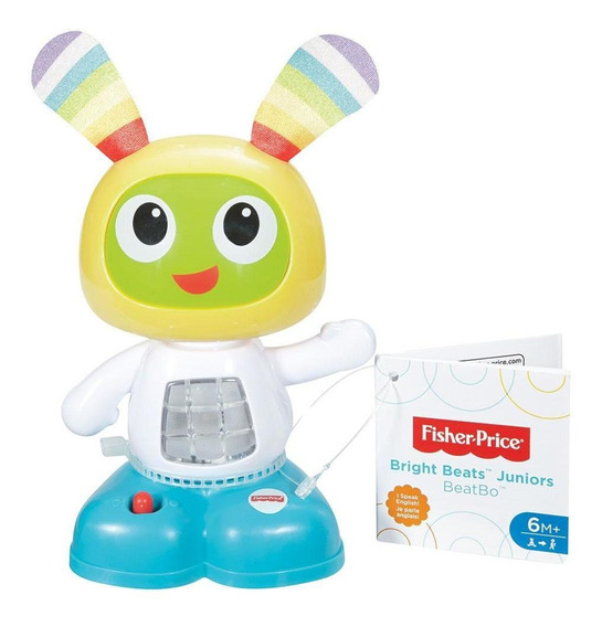 Boneco Interativo Fisher-price Beatbo Junior - Mattel