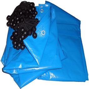 Capa Lona Para Piscina 10x7 Cobertura Proteção Sujeira