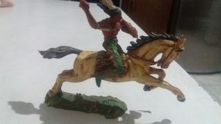 Cavalo Elastolin E Índio Apache, Otimo Estado Conservação