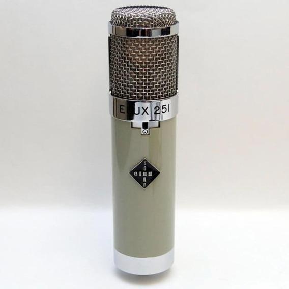 Microfone Altamente Proficional Soundelux Elux 251 Unico Top