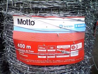 Rollos De Alambre De Puas Vicson 400 Mtrs.
