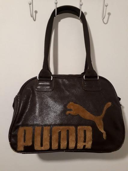 Cartera De Mano Tipo Bolso Puma Original Vintage Buen Estado