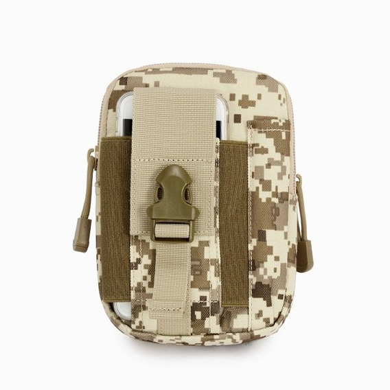Pochete Tatico Porta Treco Militar Cinto Bolso Modular Capa