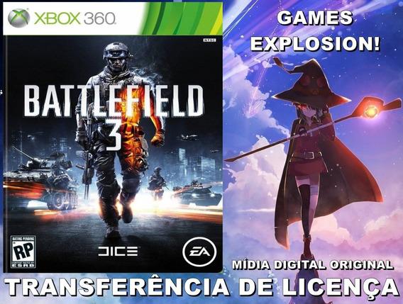 Battlefield 3 Xbox 360 - Md Licença Digital