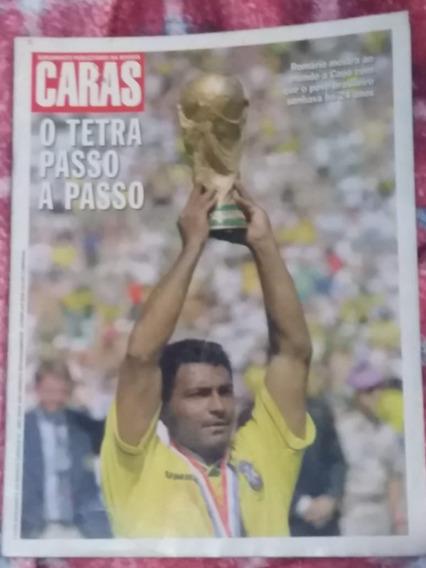 Revista Caras Copa 94 O Tetra Campeonato Passo A Passo -