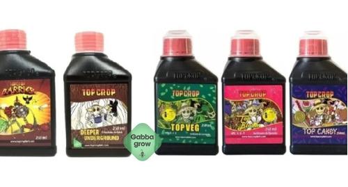 Top Crop Combo X5 Fertilizantes Candy Veg Bloom Barrier Deep