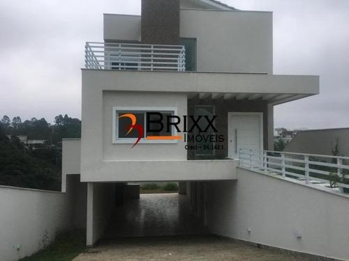 Casa Á Venda, Com 04 Quartos Condomínio Real Park Arujá - Ca-254