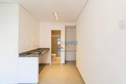 Imagem 1 de 6 de Apartamento Com 1 Dormitório Para Alugar, 14 M² Por R$ 1.160,00/mês - Campos Elíseos - São Paulo/sp - Ap63543