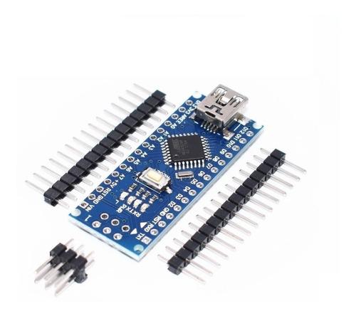 Arduino Nano V3 Compatible -atmega 328p-sin Soldar-sin Cable