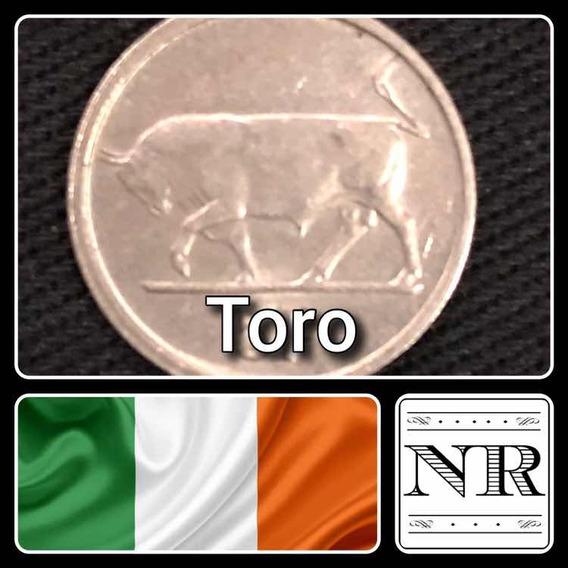 Irlanda - 5 Pingin - Año 1996 - Km # 28 - Toro - Reducida
