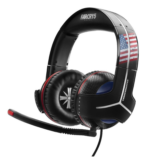 Auricular Gamer Headset Pc Xbox Ps4 Thrustmaster Far Cry 5