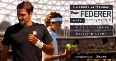 Entradas Roger Federer Vs Zverev