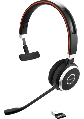 Auricular Jabra Evolve 65 Mono Canal Oficial 6 Cuotas S/int
