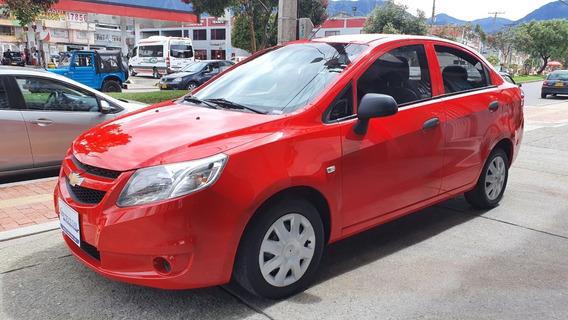Chevrolet Sail Ls 1.4 Rojo 2018