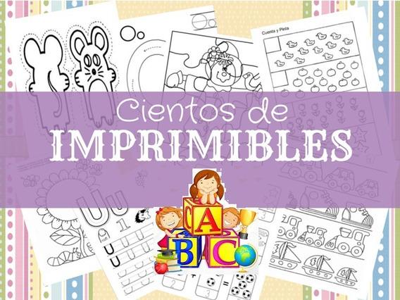 Kit Imprible Actividades Niños En Cuarentena De 3 A 6 Años
